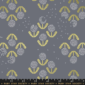RS5014 19M Darlings Puff Metallic in Cloud by Rashida Coleman-Hale for Ruby Star Society from Pink Castle Fabrics