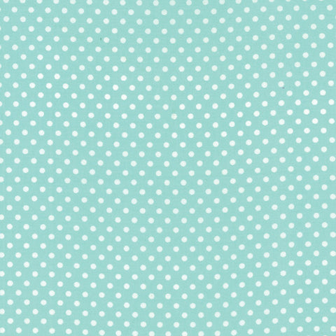 Small Dots in Aqua