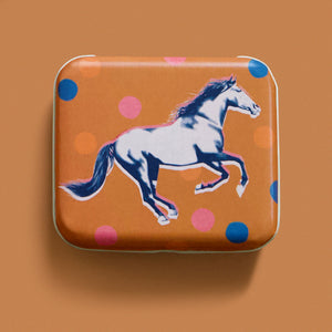 "Mustang 3""x2½"" Tin by Melody Miller"