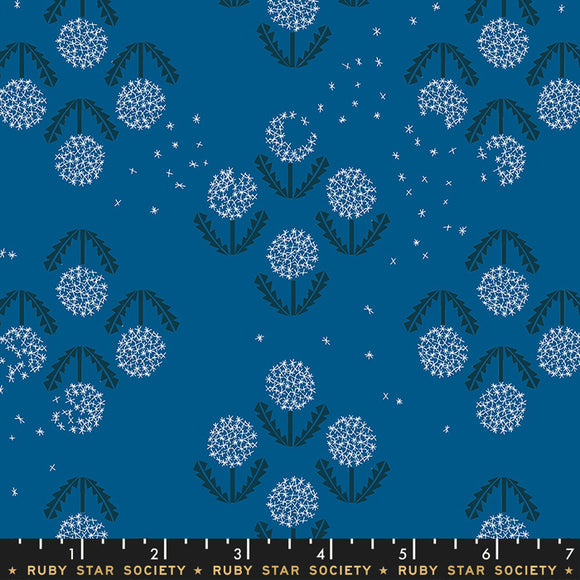RS5014 17 Darlings Puff in Blue Raspberry by Rashida Coleman-Hale for Ruby Star Society from Pink Castle Fabrics