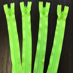 4 pack of Neon Green 9