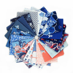 In Blue - Fat Quarter Bundle from In Blue by Katarina Roccella for Art Gallery