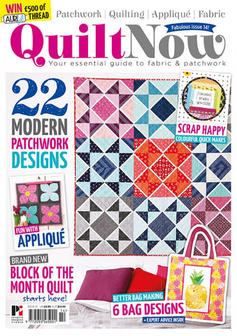 Quilt Now Magazine - Issue 14 - August 2015