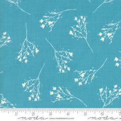 Moda Desert Bloom Blossom in Turquoise from Moda Desert Bloom by Sherri & Chelsi for Moda