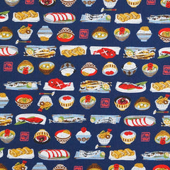 Japanese Dinner in Navy from Hobby Life by Westex House Designers  for Westex
