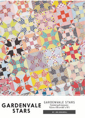 Gardenvale Stars - Quilt Pattern from Behind The Scenes by Jen Kingwell Designs for Moda