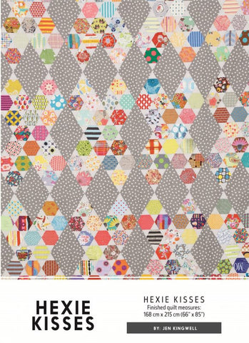 Hexie Kisses - Quilt Pattern