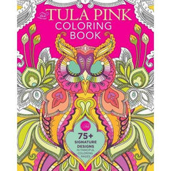 The Tula Pink Coloring Book from Cozy Christmas by Tula Pink for Stash Books