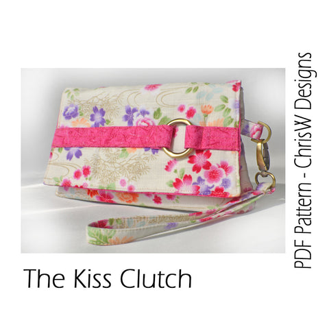 Kiss Clutch - PDF Accessory Pattern
