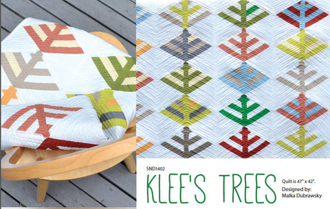 Klee's Trees - PDF Quilt Pattern
