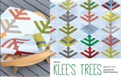 Klee's Trees - PDF Quilt Pattern by Stitch In Dye