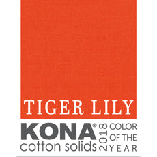 Kona in Tiger Lily - Kona Color of the Year 2018