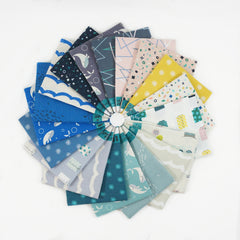 Kujira & Star - Fat Quarter Bundle from Kujira & Star by Rashida Coleman-Hale for Cotton+Steel
