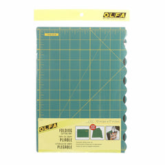 Folding Cutting Mat 12in x 17in from Cutting Tools for Olfa
