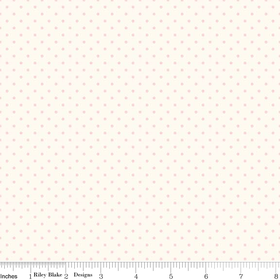 Le Creme Swiss Dot in Baby Pink