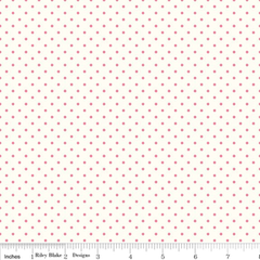 Le Creme Swiss Dot in Hot Pink from Swiss Dot by Riley Blake House Designers  for Riley Blake