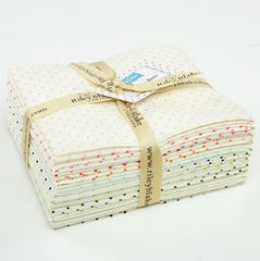 Le Creme Swiss Dots - Half Yard Bundle from Le Creme by Riley Blake House Designers  for Riley Blake