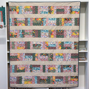 Liberty Sunset Strips - Quilt Kit