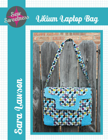 Lilium Laptop Bag - PDF Accessory Pattern