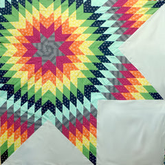 Lone Star Rising Quilt Kit from Pie Making Day by Brenda Ratliff for RJR