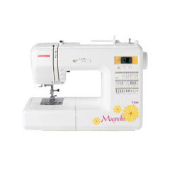 Janome Magnolia 7330 from Janome In Store Only by Anna Maria Horner for Janome