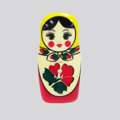 Button - Matroyshka Doll from Buttons for Dill