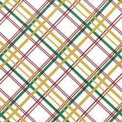 Christmas Bow Tie Plaid in Garland