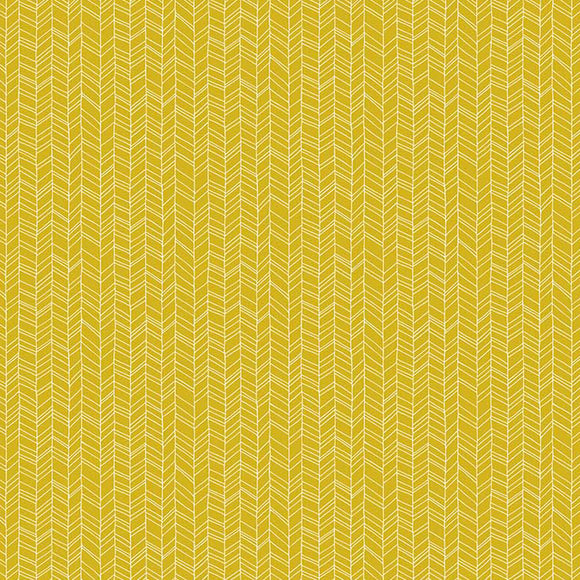 Mountain Meadow Herringbone in Gold