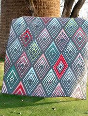 Modern Ice – Paper Quilt Pattern by Ruby Grey Studio