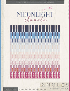 Moonlight Sonata Quilt - FREE PDF Pattern