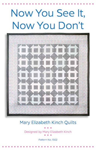 Now You See It, Now You Don't - Printed Quilt Pattern