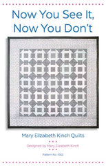 Now You See It, Now You Don't - Printed Quilt Pattern from Modern Country by Mary Elizabeth Kinch for Windham