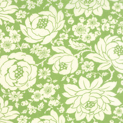 Hello Darling Floral in Green from Hello Darling by Bonnie and Camille for Moda