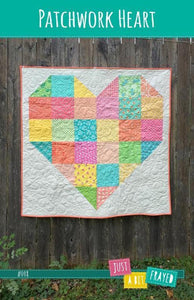 Patchwork Heart - FREE PDF Quilt Pattern