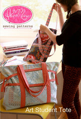 Art Student Tote from Color Inspirations Club by Anna Maria Sewing Patterns for Alison Glass Design