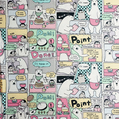 Polar Bear Antics in Multi from Petit Scandinavia by Westex House Designers  for Westex