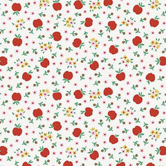 Apple Farm Fresh in White from Apple Farm by Elea Lutz for Penny Rose Fabrics