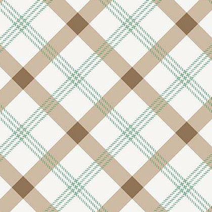 Apple Farm Plaid in Brown