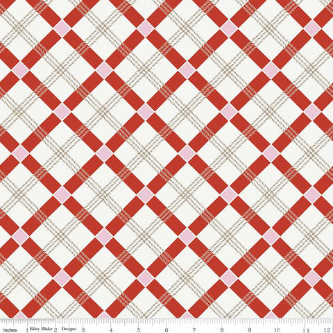Apple Farm Plaid in Red