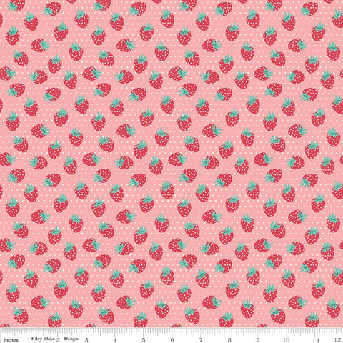 Shabby Strawberry Berry in Pink