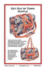 Get Out of Town Duffle - Printed Bag Pattern from Patterns by Annie by Annie Unrein for ByAnnie