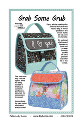 Grab Some Grub - Printed Bag Pattern from Patterns by Annie by Annie Unrein for ByAnnie