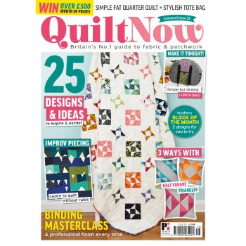 Quilt Now Magazine - Issue 28 - September 2016
