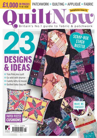 Quilt Now Magazine - Issue 32 - January 2017
