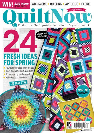 Quilt Now Magazine - Issue 34 - March 2017