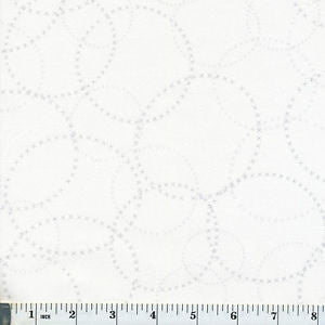 Modern Background Paper XOXO in Silver on White