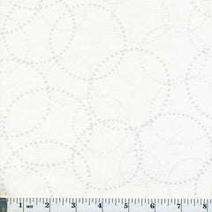 Modern Background Paper XOXO in Silver on White from Modern Background by Zen Chic for Moda