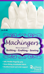 Machingers Quilting Gloves - S/M by Suzanne Michelle Hyland