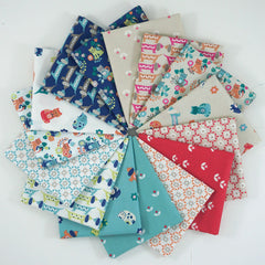 Sam and Mitzi – Fat Quarter Bundle from Sam and Mitzi for Lewis and Irene
