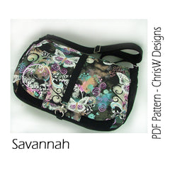 Savannah - PDF Accessory Pattern by ChrisW Designs